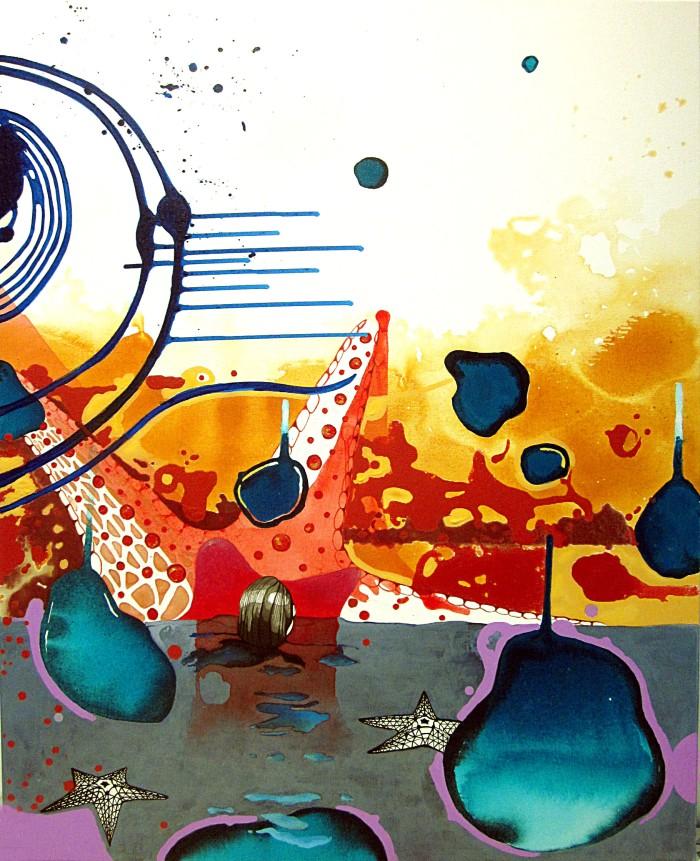 Técnica mixta sobre lienzo 116 x 89